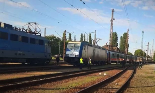 Eltévedt egy vonat Budapesten, a Nyugati helyett Rákosrendezőn kötöttek ki az utasok