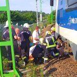 Halálra gázolt egy embert a vonat Vácnál, késnek a vonatok