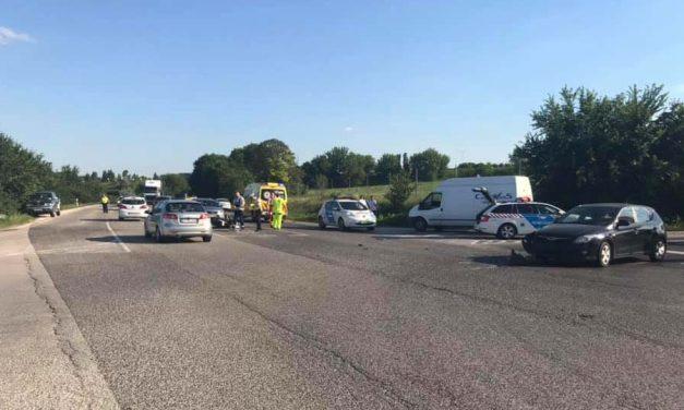 Motoros baleset miatt lezárták az M1-es autópálya lehajtóját