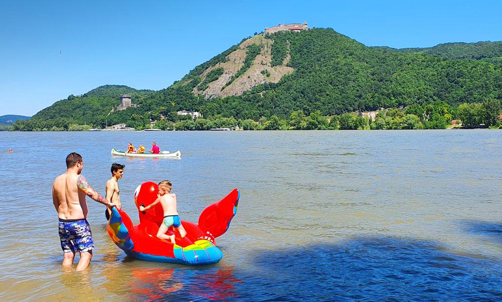 TOP 9+1 vízparti program a Dunakanyarban a forró hétvégén