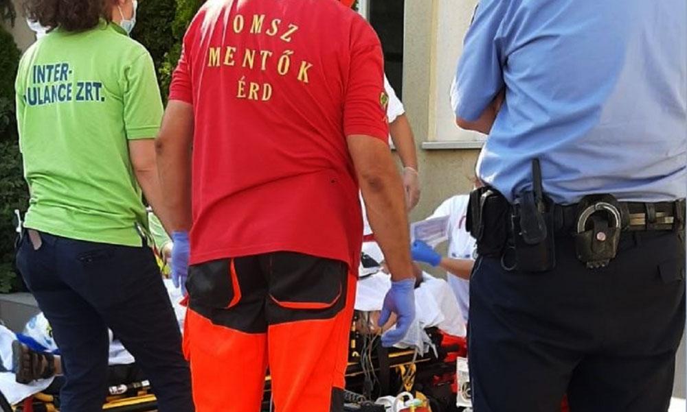Az érdi férfi életét 80 kiló jéggel mentették meg a rendőrök