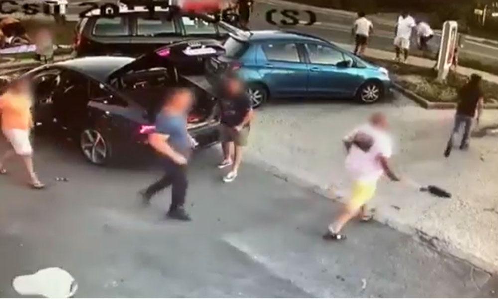 Akciófilmbe illő felvétel: így támadt egymásra a két banda Érden