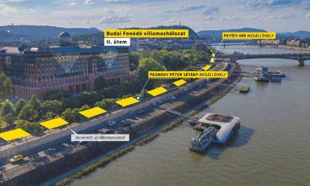 Vitézy Dávid: Folytatódik a budapesti sikersztori, indul a Budai fonódó 2. üteme, villamos lesz a Műegyetem rakparton, az Infoparknál és a Kopaszi gátnál