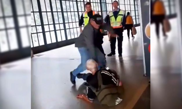 Akkora pofont adott a Nyugati pályaudvaron a biztonsági őr egy idős férfinak, hogy az elesett
