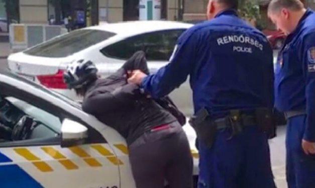 Szinte vírusként terjedt a felvétel, amin a kerékpáros nőt leteperik a rendőrök: most itt az eredmény a 11. kerületben történt emlékezetes ügyben