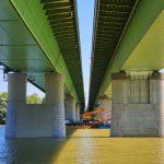 Eddig titkolták ma a Kormányinfón elmondták: Ez a baj az M0-áson a felújított, majd lezárt Hárosi-híddal