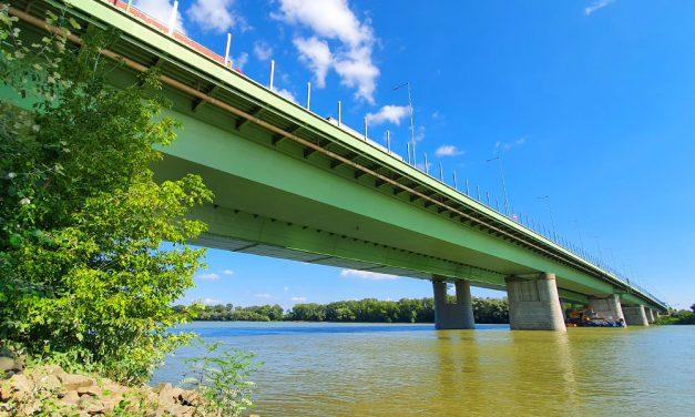 Jó hír: Iskolakezdésre újra járható lesz az M0-s hídja