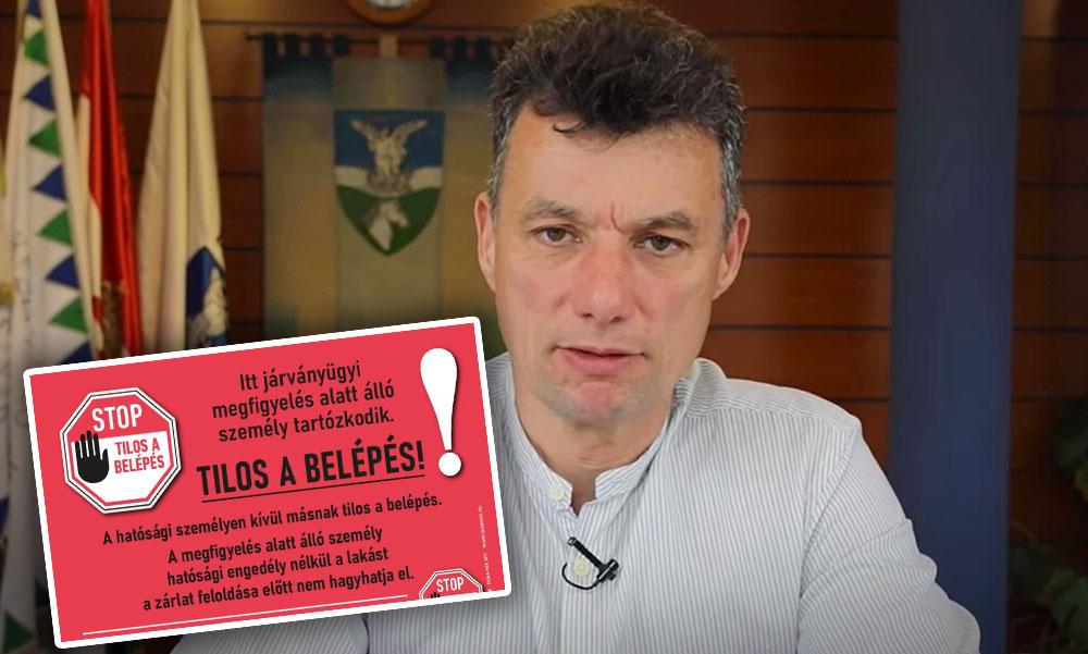 Koronavírus miatt karanténba került Dunakeszi polgármestere Dióssi Csaba
