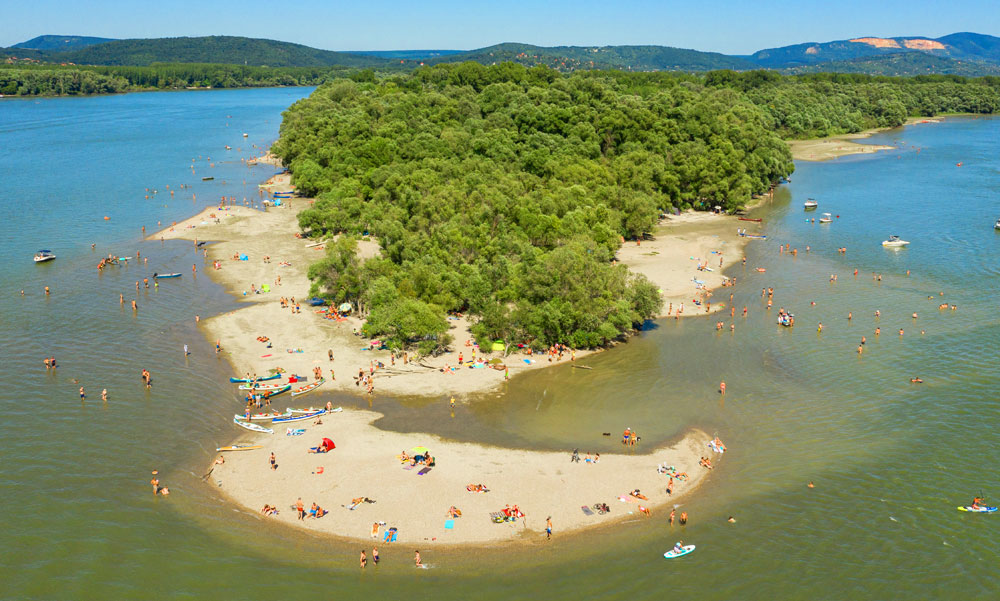 Csodálatos tengerpart a Duna közepén, de vigyázz, mert könnyen megszívhatod ha nem figyelsz egy fontos dologra