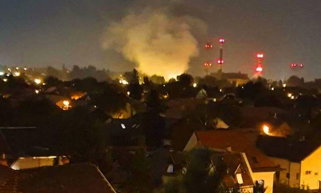 Robbanást hallottak Kispesten, füstöt láttak az erőmű közelében