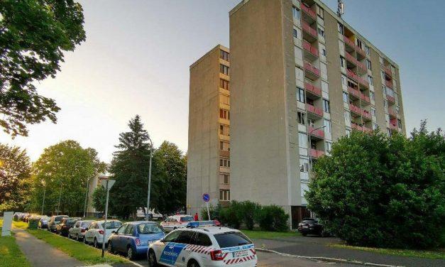 Kizuhant egy másfél éves kislány az ablakon, egy rendőr élesztette újra