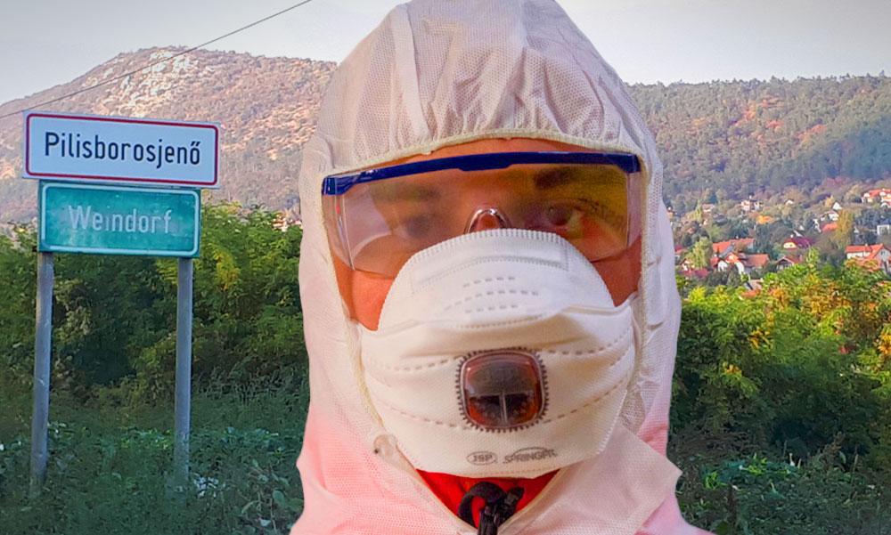 """""""Én nagyon félek"""" – Rettegnek a helyiek Pilisborosjenőn a koronavírusos orvosi asszisztens miatt"""