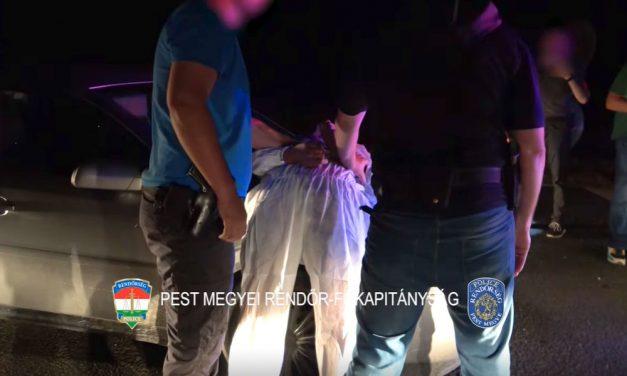 Benzinkutakon és autópályák pihenőiben törték fel az autókat: Zsámbéknál elkapták a trükkös tolvajokat