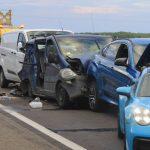 Halálos tömegkarambol az M5-ösön: Porschébe rongyolt a BMW aztán jöttek a többiek