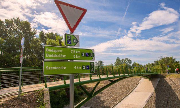 Elkészült a Szentendrét Budapesttel összekötő kerékpárút, de hogyan megy tovább új Duna-híd nélkül?