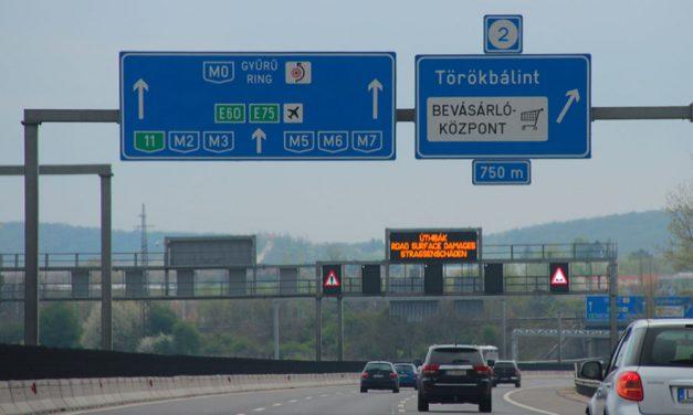 Kiakadtak Törökbálinton, túl zajos az M7-es és az M0-ás, sebességcsökkentést akarnak a sztárdán