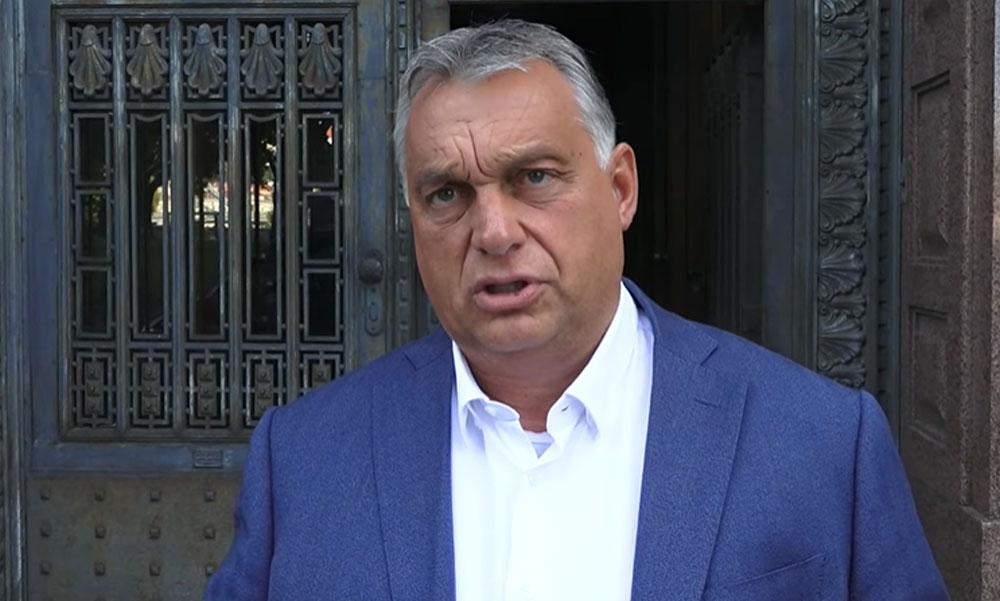 Orbán Viktor: Megbüntetik azokat, akik nem tartják be a maszkviselés szabályait