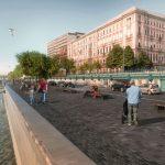 Elkezdődhet a pesti rakpart átalakítása, szinte teljesen kiszorítják az autókat a Duna-partról