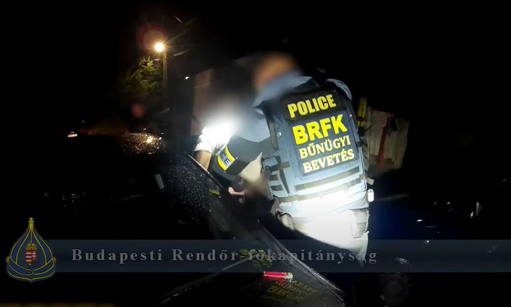 Elfogták az élettársát ájulásig verő férfit, hőkamerás drónnal térképezték fel a rendőrök az akció gyáli helyszínét