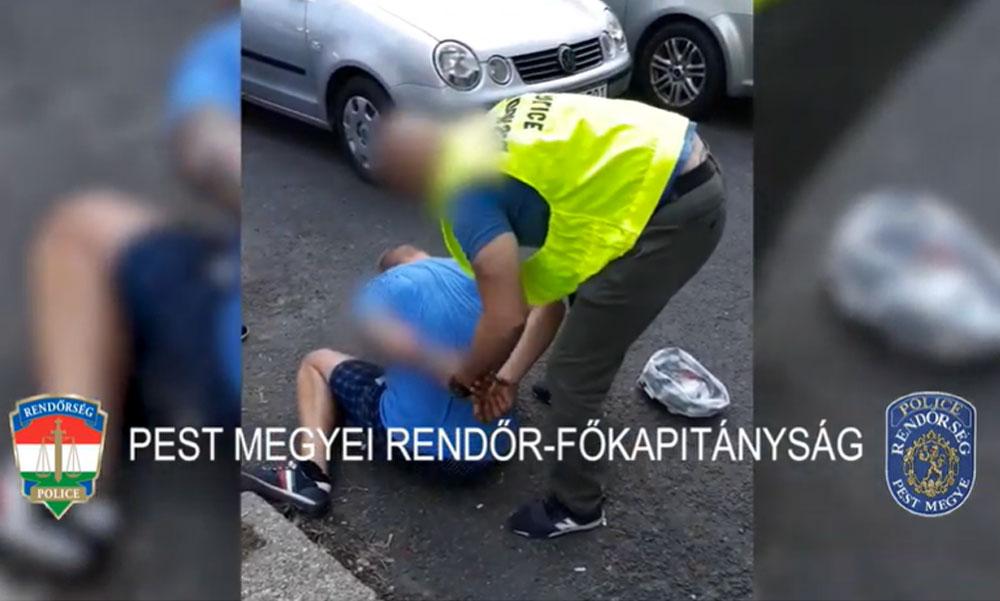 Drogkereskedőre csaptak le a rendőrök a gödöllői paneleknél, meglepődött a férfi a váratlan akción