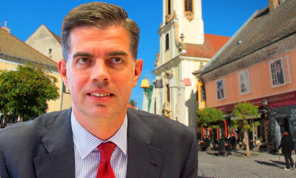 Testvére alpolgármestersége idején botrányosan olcsón bérelt irodát Szentendrén a fideszes Gyürk András EP-képviselő