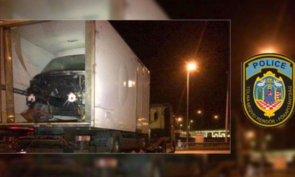 Horrorkaraván az M6-oson: kivonták a forgalomból, mégis a sztrádán robogott az életveszélyes járművel a sofőr