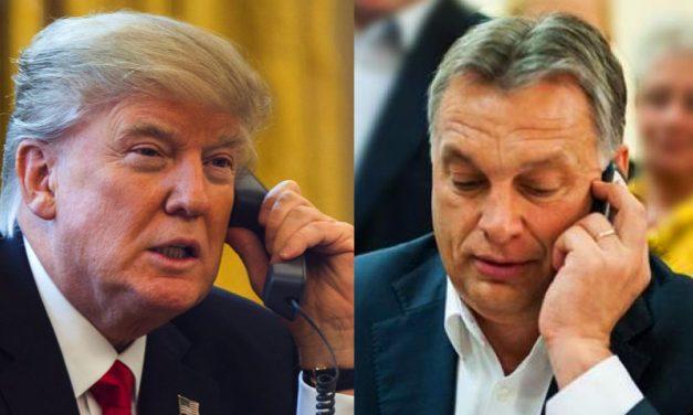 """""""Hívjuk fel Viktort!"""" – mondta hirtelen Trump, majd tárcsázta a 12. kerületi házának konyhájában ücsörgő miniszterelnököt"""