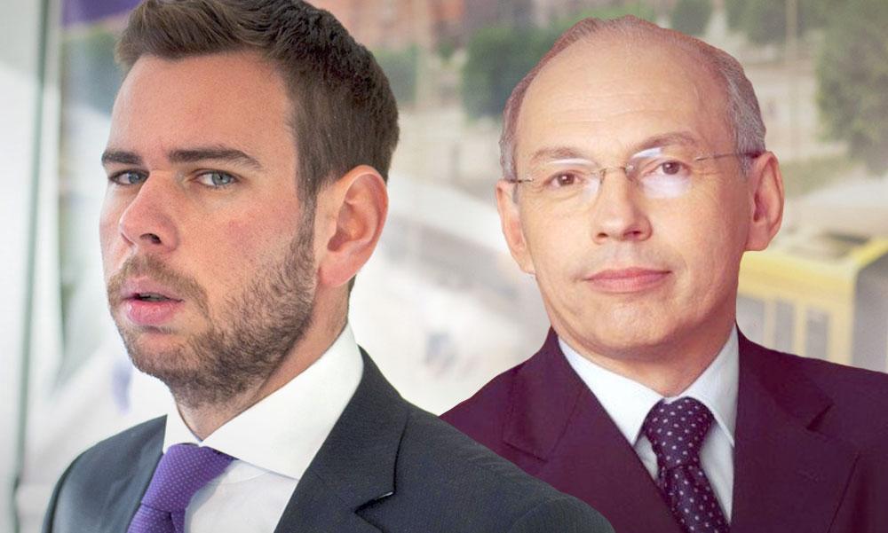 Vitézy Dávid alaposan helyre tette a BKK igazgatóságának elnökét, Draskovics Tibort