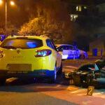 Fejjel csapódott a taxinak a motoros ételfutár, a férfi nem élte túl az ütközést