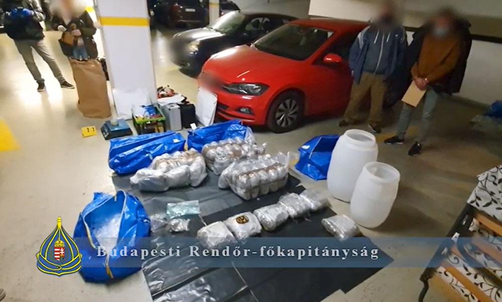 Óriási drogfogás: 100 millió forint értékű kábítószer volt az IKEÁ-s táskákban