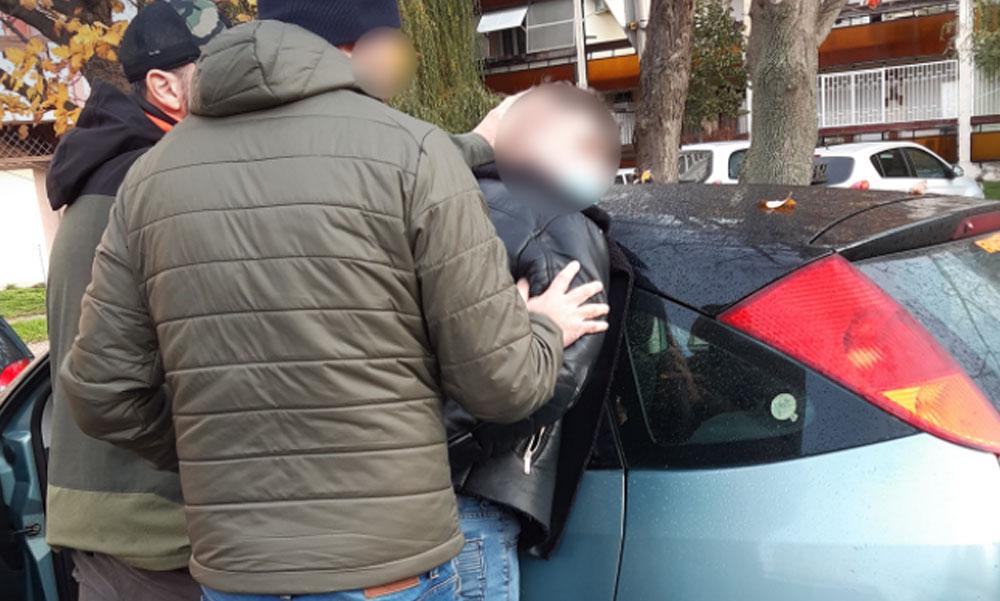 Fékcsikorgás a lakótelepen, stricire csaptak le a rendőrök