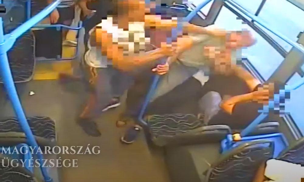 Leköpték és megverték az utast a BKK buszon, az volt a bűne, hogy szóvá tette a tolakodást