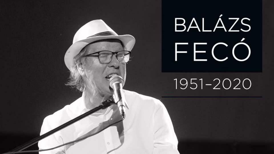 A Margitszigeten búcsúztatják Balázs Fecót – a zenész koronavírus miatt hunyt el
