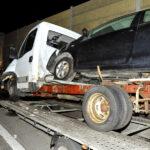 Utoléréses baleset az M0-áson, közben rengeteg drogot találtak egy autóban