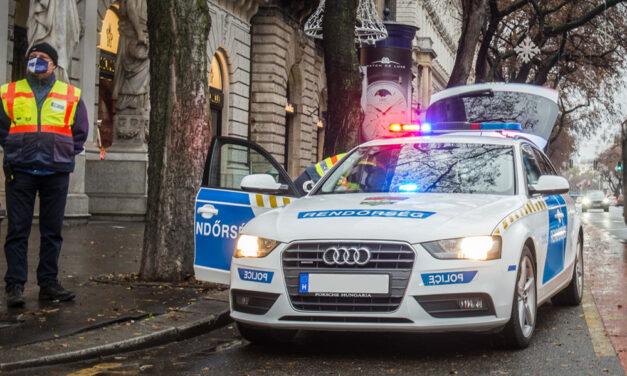 Autós üldözés a nagykörúti villamossíneken, tolvajt hajszoltak a rendőrök