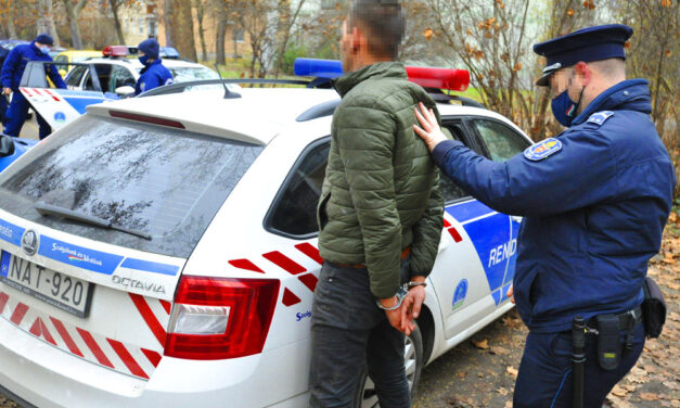 Rajtaütés Gödöllőn, úgy csikorogtak a rendőrautók a parkolóban, hogy megállt az élet a környéken
