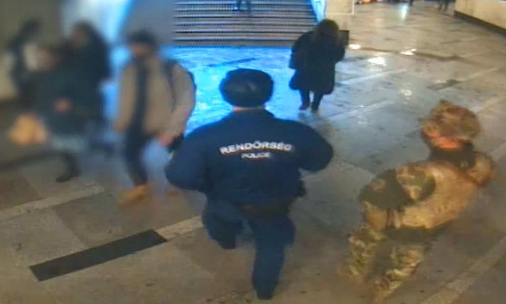 Lebuktatta magát a körözött bűnöző, amikor meglátta a rendőröket futásnak eredt a Blahán