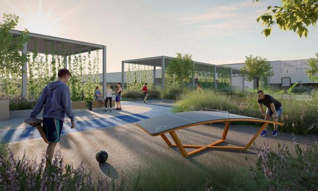 Ilyen lesz az új Testnevelési Egyetem a MOM-parknál, megkapták az építési engedélyt, indul a munka
