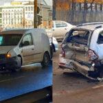 Különös, de két hasonló baleset történt szinte egyidőben a Soroksári úton, ez még a helyszínelőknek is feladta a leckét