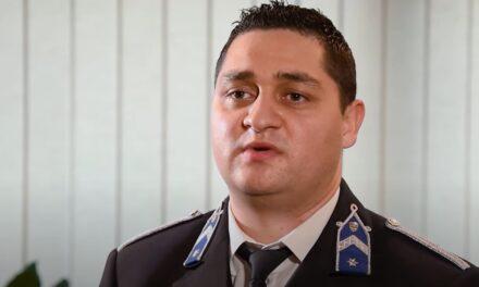 Megszólalt a hős rendőr, aki újraélesztette az újpesti társasház második emeletéről kizuhant kislányt – videó