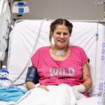 Életében először magához ölelheti kislányát az a koronavíruson átesett kismama, akinek életét műtűdővel mentették meg, Szilvia 69 nap után elhagyhatta a kórházat