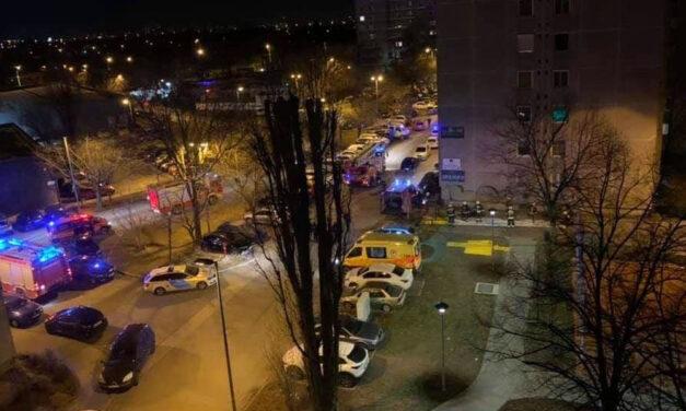 Agyba-főbe verte feleségét egy férfi Újpesten, majd fel akarta robbantani a lakást – a TEK kommandósai is a helyszínre érkeztek