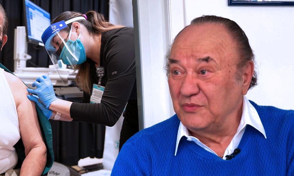 """""""Végre visszakapom a régi életem"""" – mondta Korda György miután beadták neki a koronavírus-vakcinát"""