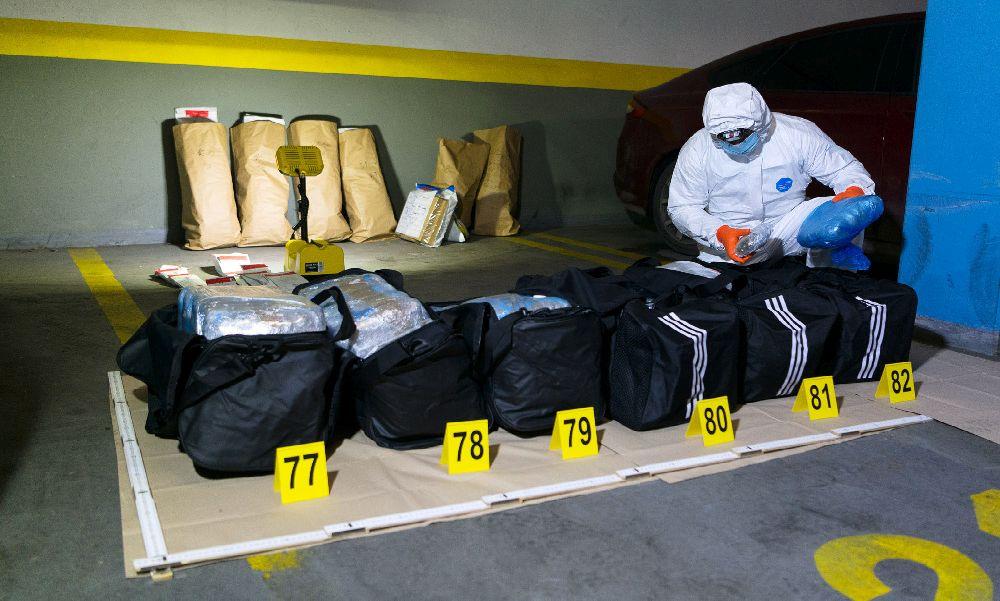 Óriási drogfogás, az elmúlt évek legnagyobb szajréja került elő, 81 kiló kábítószerre csaptak le a budapesti rendőrök