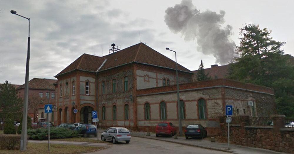 Tűz volt a székesfehérvári kórházban, 128 beteget az ágyukkal együtt toltak ki az épületből