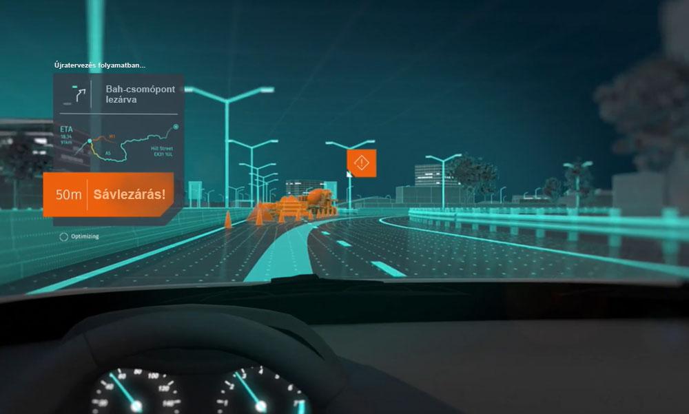 A Bah-csomópont lezárva! Nem baj, az autód magától megy tovább a megfelelő úton – megérkezett Budapestre is a csúcstechnika