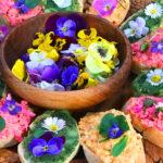 Virágos ételek, illatos szendvicsek, sütik és minden, amiről nem is gondolnád, hogy ehető, finom és egészséges