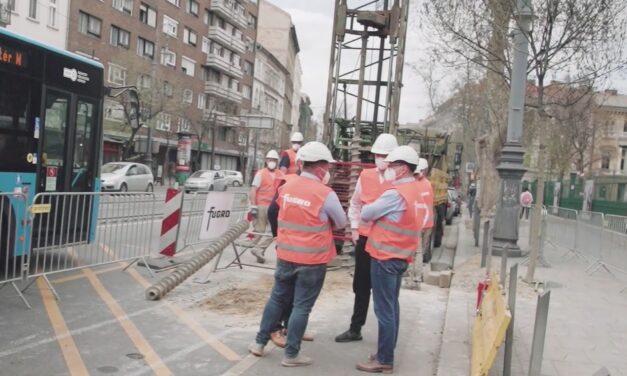 BFK: próbafúrásokkal kezdődött meg az 5-ös metróvonal megépítésének első szakasza