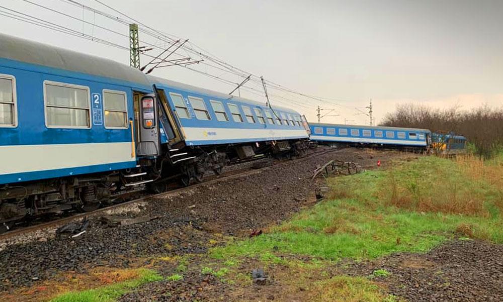 Vasúti baleset Újfehértónál