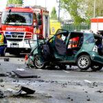 Tömegkarambol a ferihegyi gyorsforgalmin, négy autó érintett a balesetben, egy ember meghalt, bűnügyi helyszínelők is érkeztek